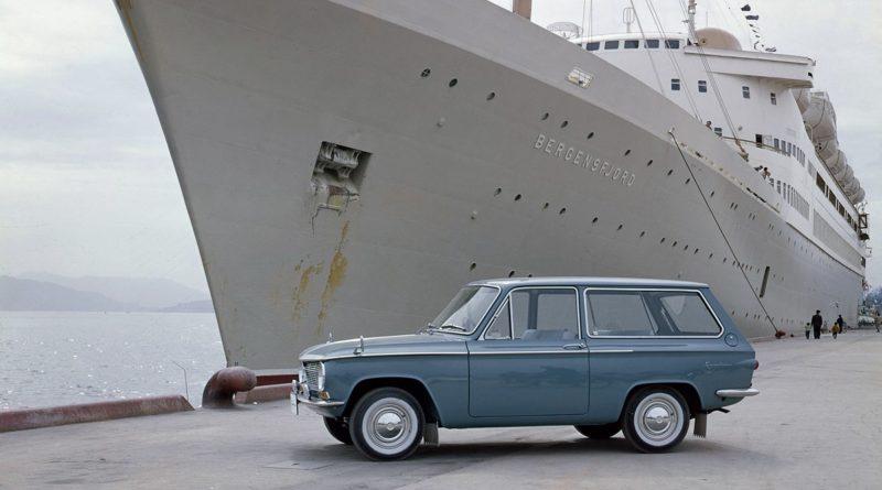 Mazda Familia Wagon 1963 - 60 lat rodzinnych samochodów Mazdy