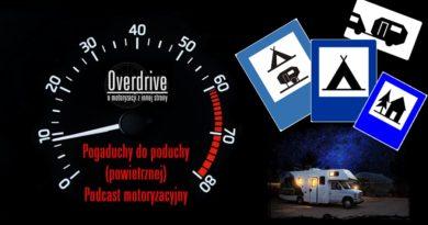 Podcast motoryzacyjny Overdrive, odcinek 5