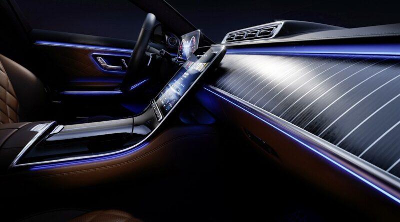 Nowy Mercedes klasy S (W223) - wnętrze