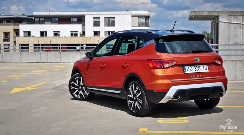 SEAT Arona 1.0 TSI DSG Outdoor Edition | test