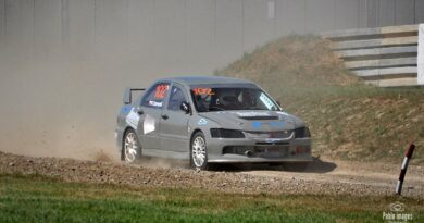 Robert Czarnecki po 1 rundzie Mistrzostw Polski Rallycross