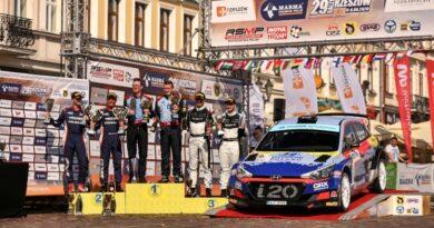 Rajd Rzeszowski RSMP 2020 - podium