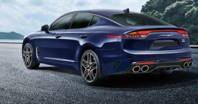 Kia Stinger po faceliftingu