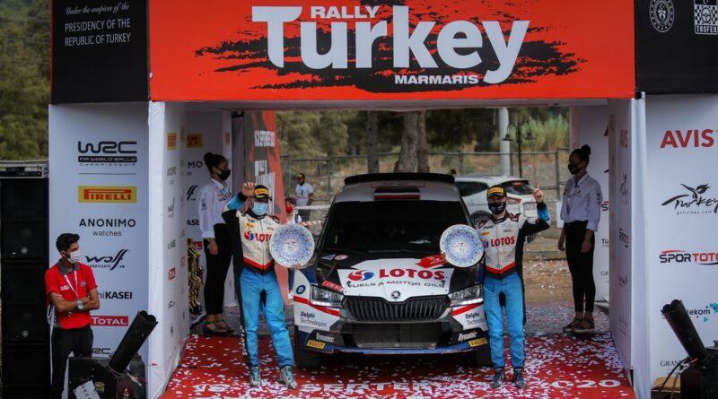Kajetanowicz i Szczepaniak Wygrywają Rajd Turcji 2020 w WRC3