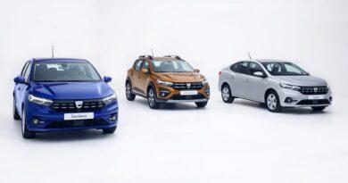 Nowa Dacia Sandero, Sandero Stepway i Logan