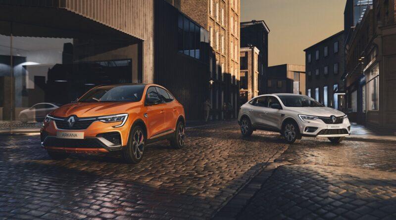 Renault Arkana pojawi się na rynkach UE