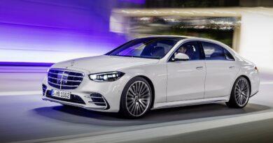 Nowy Mercedes-Benz Klasa S, 2020,