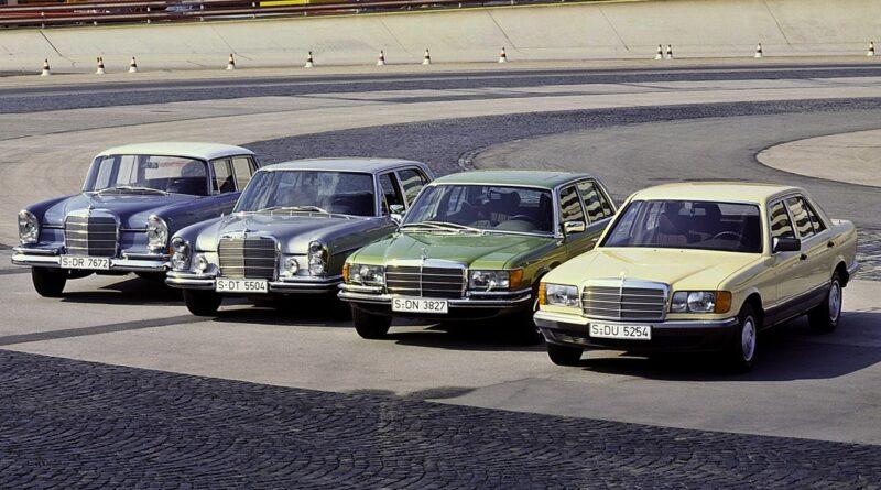 Mercedes-Benz - historia klasy S