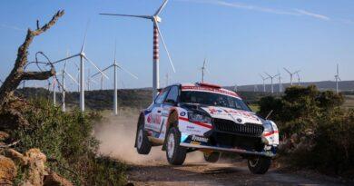 Kajetan Kajetanowicz i Maciek Szczepaniak, WRC3, Rajd Sardynii 2020