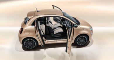 Nowy elektryczny Fiat 500 3+1