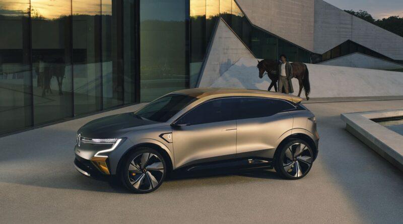 Koncepcyjny Renault MÉGANE eVISION