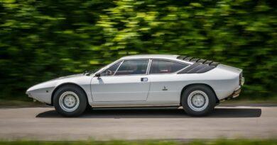 Lamborghini Urraco ma 50 lat