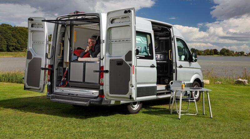 Podróż elektrycznym Volkswagenem e-Crafter na Nordkapp