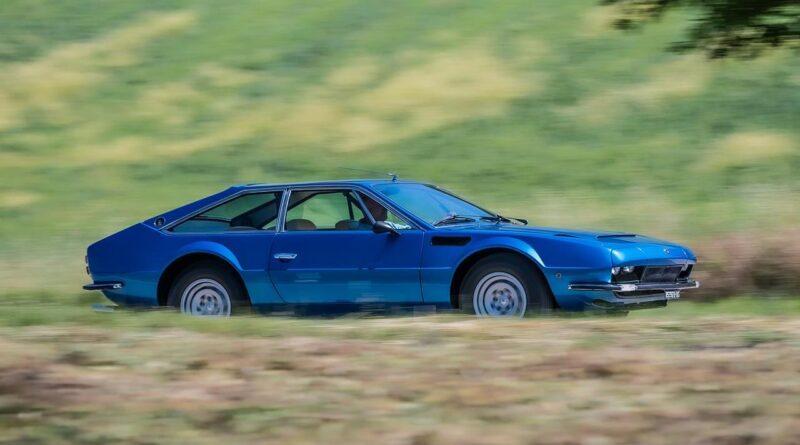 Lamborghini Jarama ma 50 lat