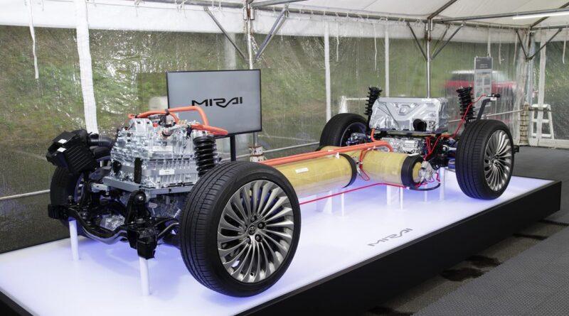 Nowa, wodorowa Toyota Mirai FCEV 2021
