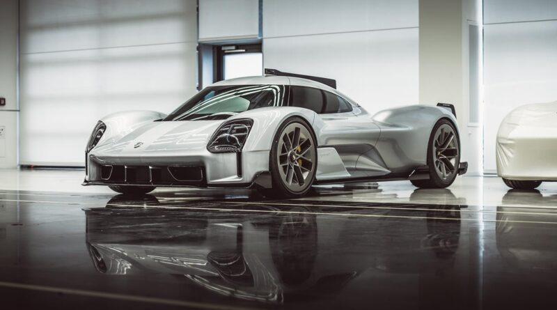 Porsche 919 Street - Nieznane koncepcyjne samochody Porsche