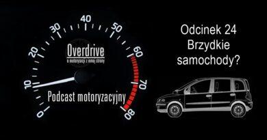 Podcast motoryzacyjny Overdrive | Odcinek 24 | Brzydkie samochody?