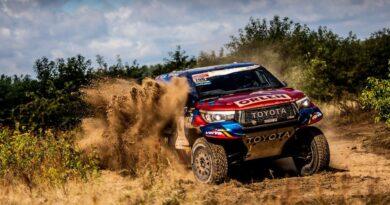 Kuba Przygoński / Timo Gottschalk, Toyotą Hilux, przed rajdem Dakar 2021