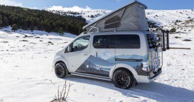 Kempingowy Nissan E-NV200 Winter Camper