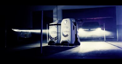 Mobilny robot ładujący