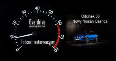 Podcast motoryzacyjny Overdrive | Odcinek 38 | Nowy Nissan Qashqai