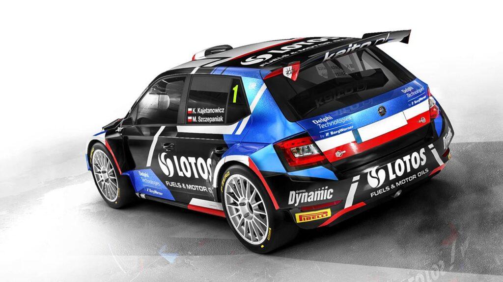 Kajetan Kajetanowicz w WRC3 w sezonie 2021