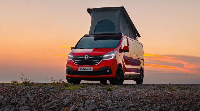 Renault Trafic Camper w zabudowie Wavecamper