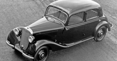 Mercedes-Benz 170 V (W 136) w czterodrzwiowej wersji produkowanej od 1937 roku