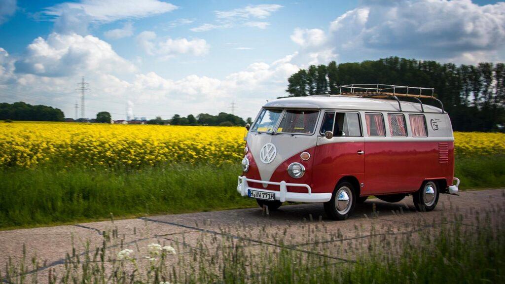 Kamper Volkswagen Bulli Transporter T1 1962
