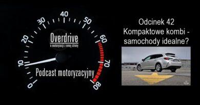 Podcast motoryzacyjny Overdrive | Odcinek 42 | Kompaktowe kombi - samochody idealne?