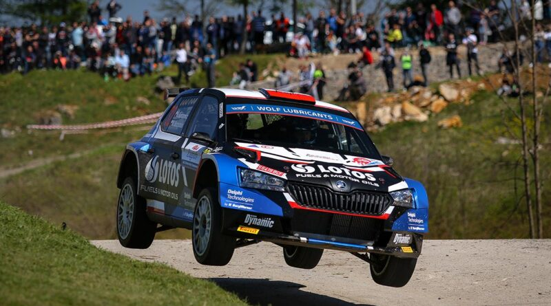 Kajetanowicz i Szczepaniak wygrywają Rajd Chorwacji w WRC3