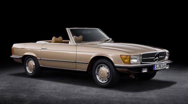 Mercedes-Benz SL serii R 107 ma 50 lat