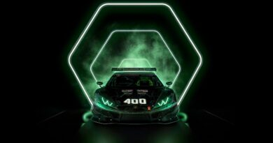 Wyścigowe Lamborghini Huracan GT3 Evo nr 400