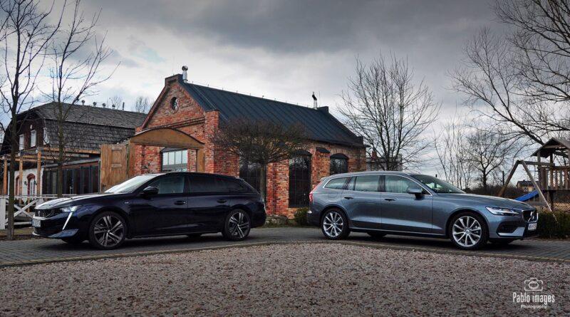 Łoś kontra lew. Volvo V60 B4 kontra Peugeot 508 SW 1.6 Pure Tech – test