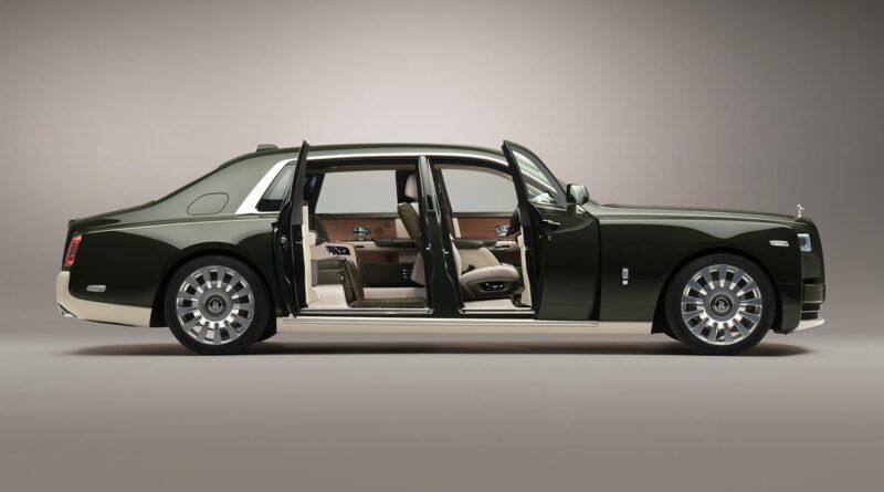 Rolls-Royce Phantom Oribe Bespoke stworzony we współpracy z marką Hermes