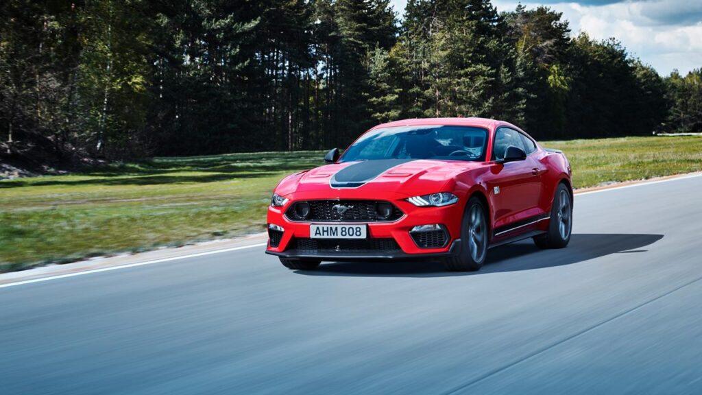 Ford Mustang Mach 1 - europejska premiera