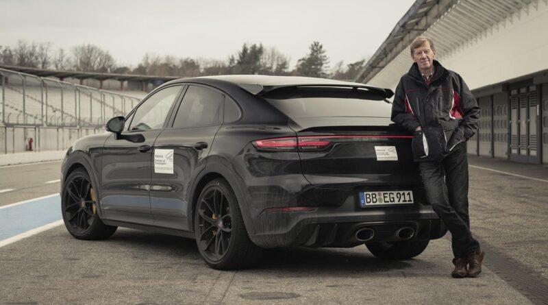 Walter Rohrl testuje nowy wariant Porsche Cayenne
