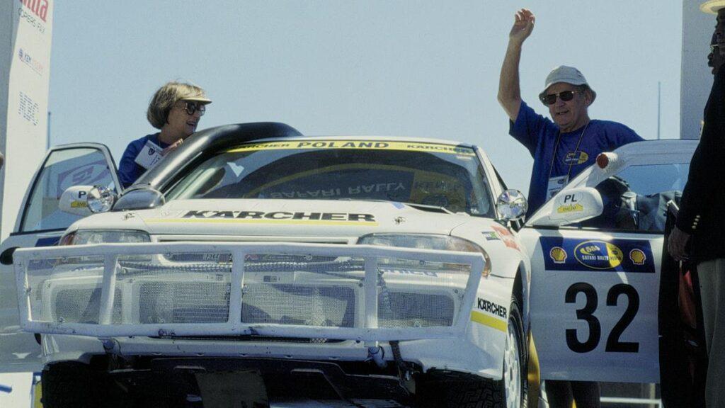 Sobiesław Zasada i Ewa Zasada w Mitsubishi Lancer Evo III - Rajd Safari 1997