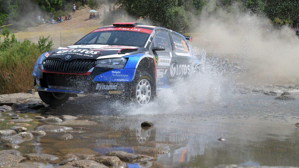 Rajd Sardynii 2021 - Kajetanowicz zdobywa cenne punkty w WRC3