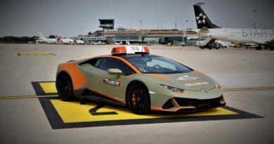 Lotniskowe Lamborghini Huracan EVO