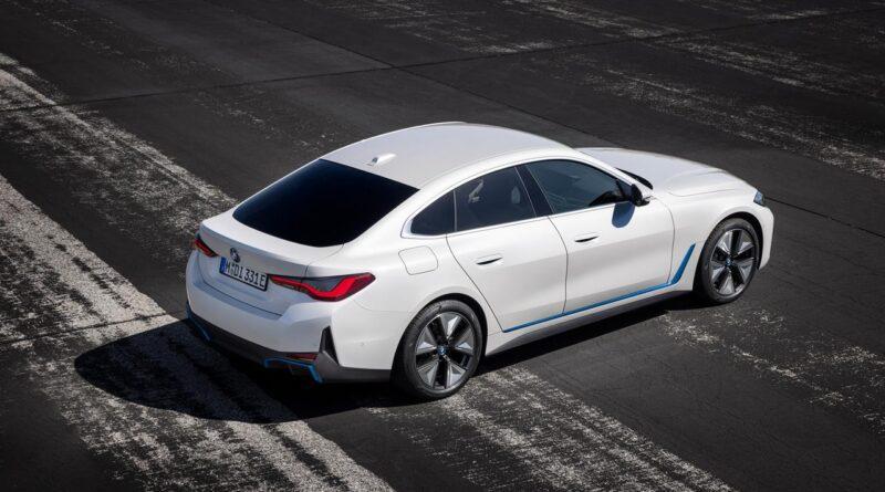 Nowe, elektryczne BMW i4