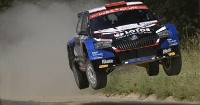 Rajd Estonii 2021. Kajetanowicz i Szczepaniak na drugim miejscu w WRC3