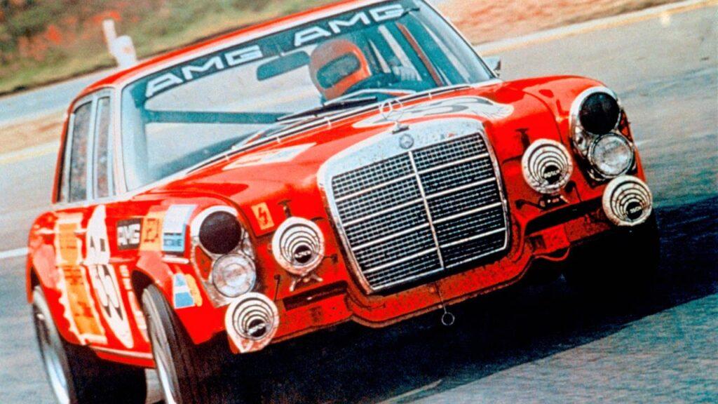 Sukces sprzed 50 lat – Mercedes AMG 300 SEL 6.8 w 24h Spa-Francorchamps 1971