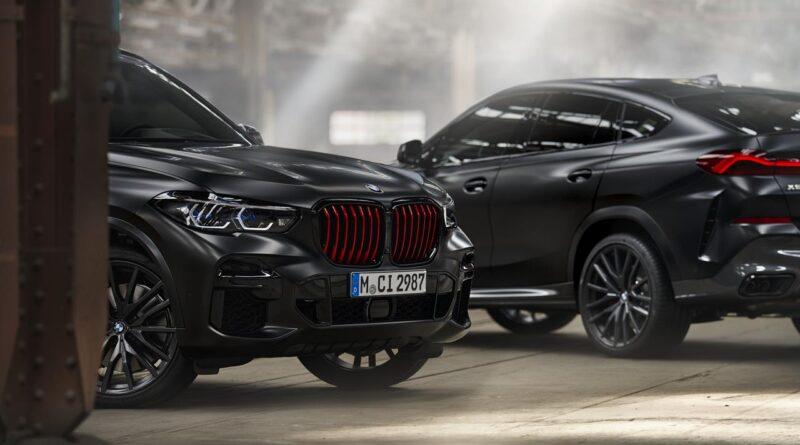 BMW X5, X6 w wersji Black Vermilion