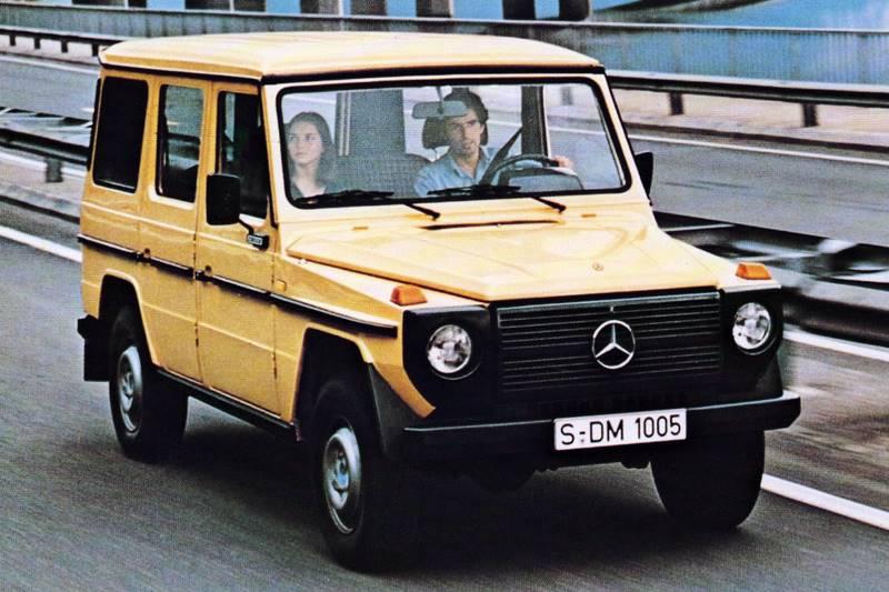 Mercedes Klasy G