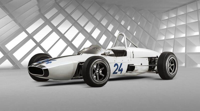 Samochód wyścigowy Formuły 3 – SKODA F3, Typ 992 z 1964 r.