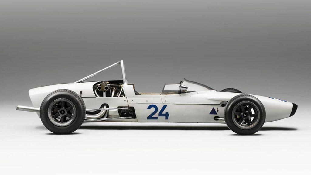 Samochód wyścigowy Formuły 3 - SKODA F3, Typ 992 z 1964 r.