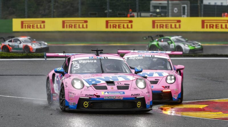 Porsche 911 GT3 Cup, BWT Lechner Racing (#3), Dylan Pereira (L), BWT Lechner Racing (#2), Ayhancan Güven (TR), Porsche Mobil 1 Supercup 2021, Spa-Francorchamps (B)