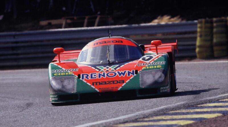 Mazda 787B - zwycięzca wyścigu 24h Le Mans 1991