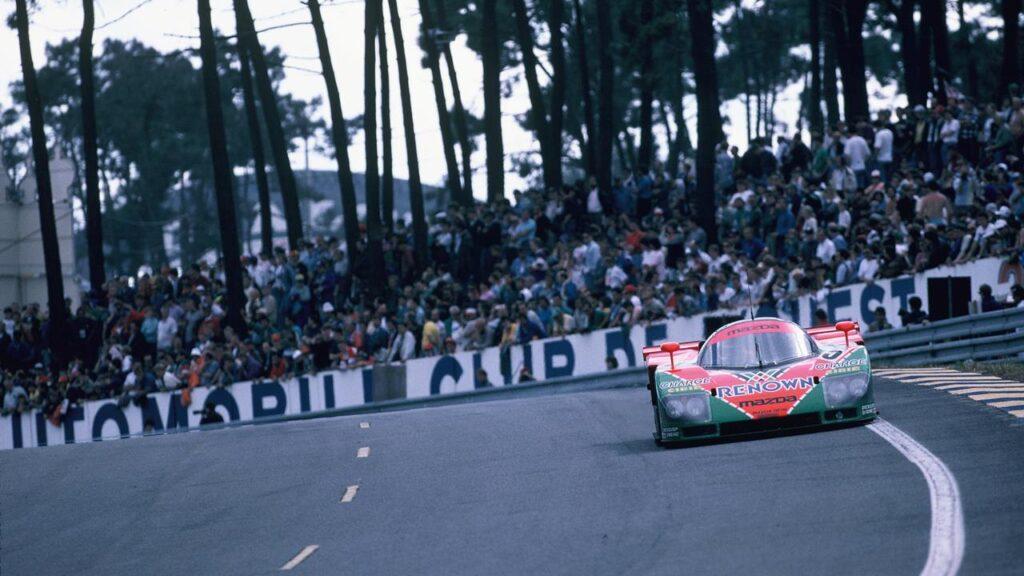 Mazda - zwycięzca wyścigu 24h Le Mans 1991